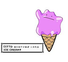 Ditto Evolves Photographic Print