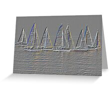 Teignmouth Yachts Greeting Card