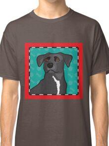 Mixed Breed Cartoon Classic T-Shirt