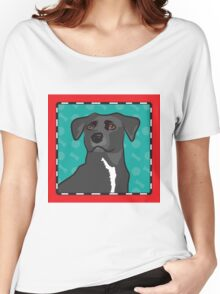 Mixed Breed Cartoon Women's Relaxed Fit T-Shirt
