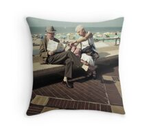 Here we should go my dear, this year !! Throw Pillow