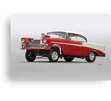 1956 Chevrolet Bel Air 'Street Gasser' Canvas Print