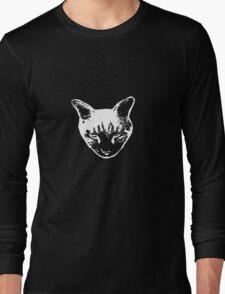 Cat Head tee white version T-Shirt