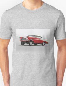 1956 Chevrolet Bel Air 'Street Gasser' Unisex T-Shirt