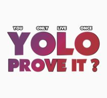 YOLO PROVE IT?: by viperbarratt
