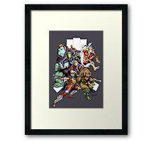 Atari Force Framed Print