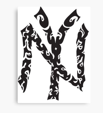 Tribal Yankees Canvas Print