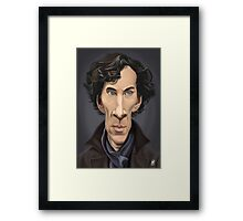Celebrity Sunday - Benedict Cumberbatch Framed Print