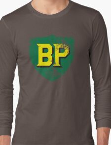 Vintage British Petroleum emblem Long Sleeve T-Shirt
