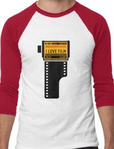 I love film v.2 Men's Baseball ¾ T-Shirt