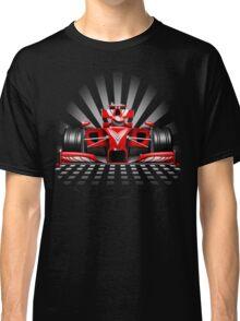 Formula 1 Red Race Car Classic T-Shirt