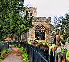 East Malling Church by Dave Godden