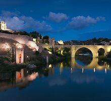 St Martin bridge, Toledo, Castilla la Mancha, Spain  by PhotoBilbo