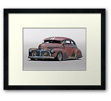1942 Chevrolet Fleetline Sedanette Framed Print