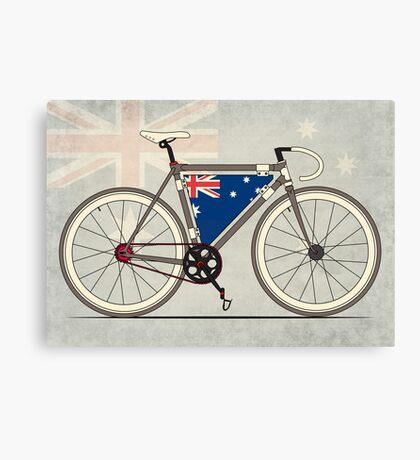 I love My Bike and Australia Canvas Print