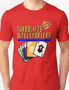 Turbolifts and Teleporters T-Shirt