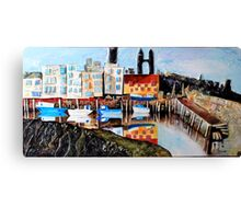 St Andrews Harbour Canvas Print