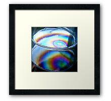 RAINBOW COLOURS Framed Print