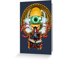 Doctor Strange in the Agamotto Eye Greeting Card