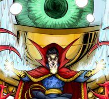 Doctor Strange in the Agamotto Eye Sticker