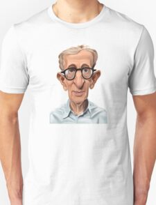 Celebrity Sunday - Woody Allen Unisex T-Shirt
