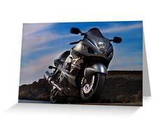hayabusa motorcyle Greeting Card