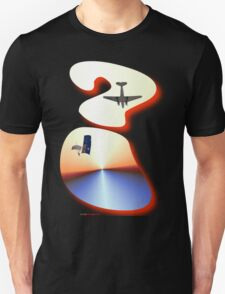 Question Mark - DC-3 & Parachutist Design T-Shirt