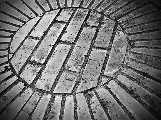 Brick Floor by Maria  Gonzalez