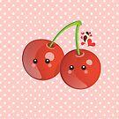 Kawaii Cherries by sweettoothliz