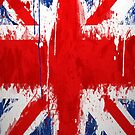 Cool UK Flag iPhone Case by Jnhamilt