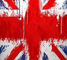 Cool UK Flag iPhone Case by Jnhamilt
