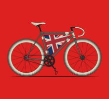 Love Bike, Love Britain One Piece - Short Sleeve