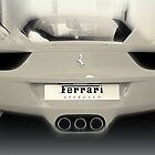 Ferrari 458 italia (rear view) by Andrew Cooper