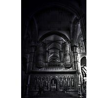 Rochester Cathedral Interior (3) HDR Photographic Print