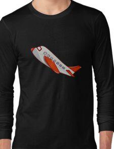 On a plain Long Sleeve T-Shirt