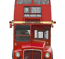 British bus iPhone case 4/4s by Jnhamilt