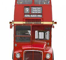British bus iPhone case 4/4s by Jnhamilt