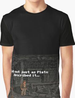 Just As Plato Described It Graphic T-Shirt