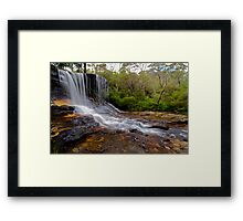The Weeping Rock. Framed Print