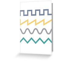 Waveform Greeting Card