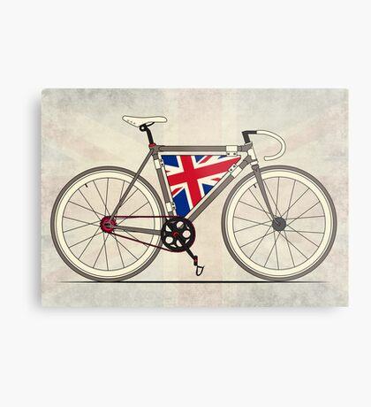 Love Bike, Love Britain Metal Print