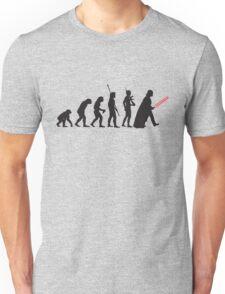 Human evolution Star wars Unisex T-Shirt
