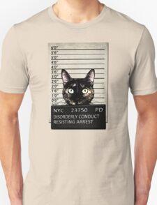 Kitty Mugshot Unisex T-Shirt