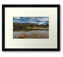Ripples in the River Framed Print