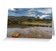 Ripples in the River Greeting Card