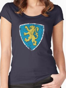 Classic Peugeot lion badge Women's Fitted Scoop T-Shirt