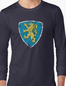Classic Peugeot lion badge Long Sleeve T-Shirt