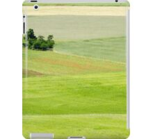Rolling green hills with trees Photographed in Umbria, Italy iPad Case/Skin