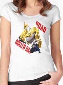 Road Roller-Da!! Women's Fitted Scoop T-Shirt