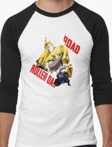Road Roller-Da!! Men's Baseball ¾ T-Shirt